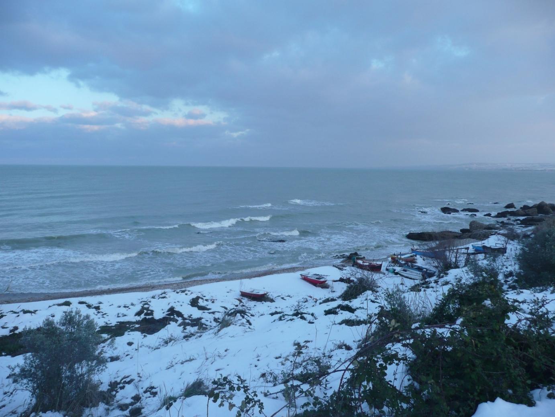 Foto Neve e  Mare: Costa abruzzese, Vasto (Ch)-p1040008.jpg