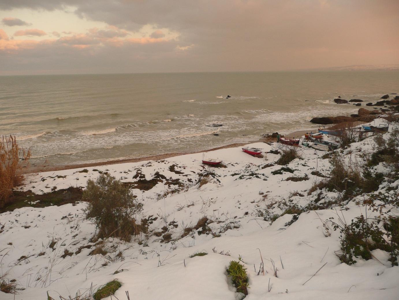 Foto Neve e  Mare: Costa abruzzese, Vasto (Ch)-p1040013.jpg