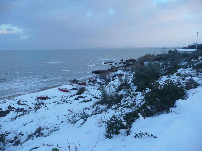 Foto Neve e  Mare: Costa abruzzese, Vasto (Ch)-p1040016.jpg