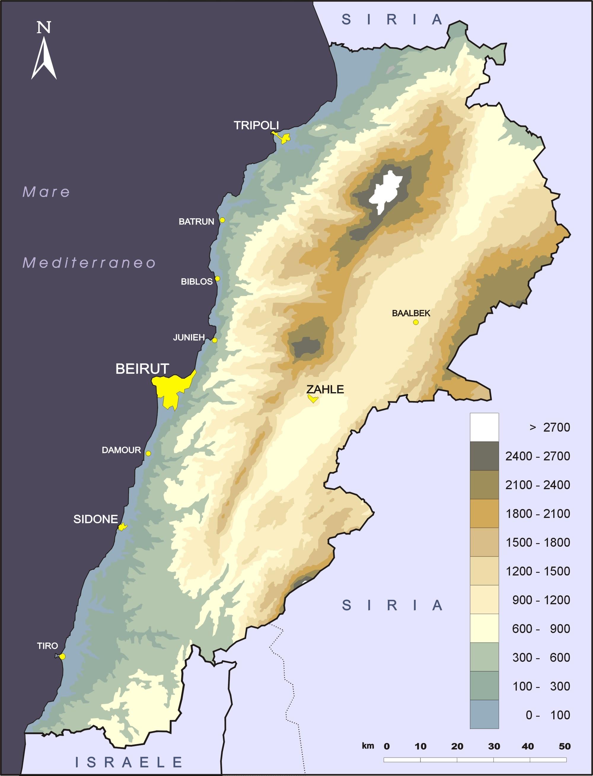 il Libano: frammentazione o mosaico?-fisico.jpg