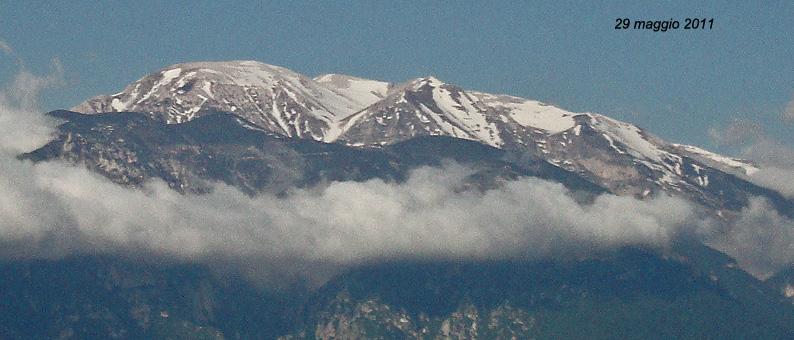 Nowcastin Nivoglaciae Majella, estate 2011-29maggio2011.jpg