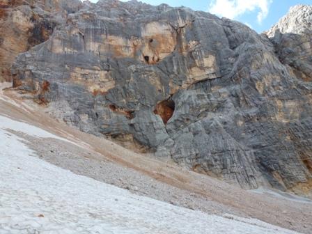 Ghiacciaio o Rock Glacier di Croda Rossa d'Ampezzo-p1000085.jpg