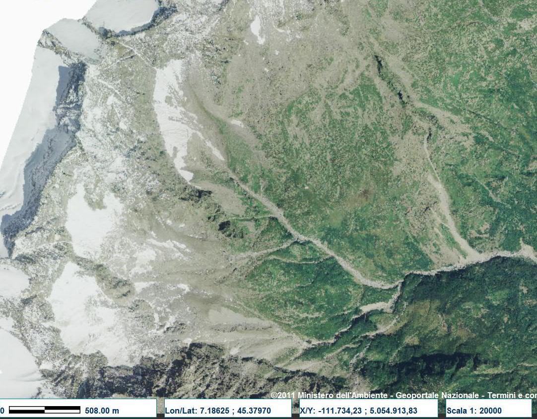 Vecchie foto aeree dei ghiacciai delle Alpi Graie (2/5)-mulinet-2006.jpg