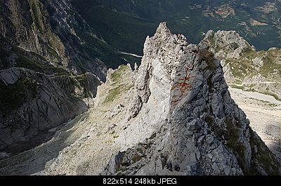 Situazione Nevai swettore Camicia Prena - Gran Sasso d'Italia - 12 agosto 2010-dsc08844.jpg