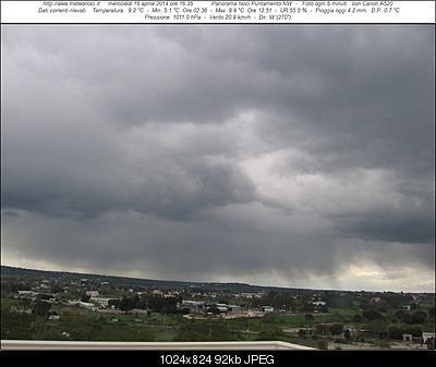 Nowcasting  PUGLIA 15 - 19 Aprile 2014 - Colpo di coda dell'inverno-webcam.jpg