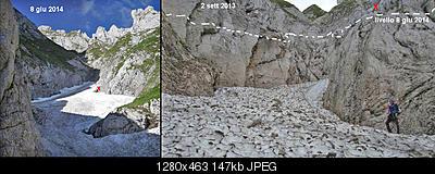 Situazione Nevai swettore Camicia Prena - Gran Sasso d'Italia - 12 agosto 2010-1235453_10201146375838852_92671307_n.jpg