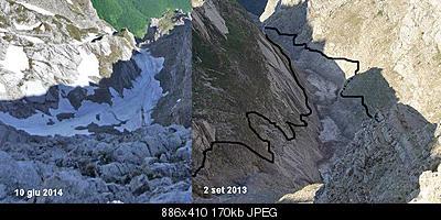 Situazione Nevai swettore Camicia Prena - Gran Sasso d'Italia - 12 agosto 2010-10457815_714955578565522_6110229180611476561_n.jpg