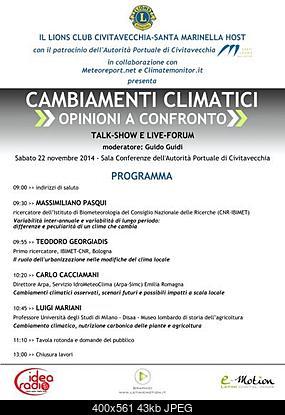 Cambiamenti climatici, opinioni a confronto: live-forum a Civitavecchia!-programma_convegno-400x561.jpg