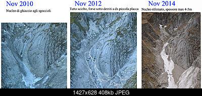 Situazione Nevai swettore Camicia Prena - Gran Sasso d'Italia - 12 agosto 2010-pisciarellone.jpg