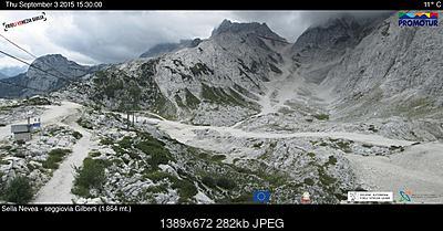 Conca Prevala (sella Nevea-ud) 15-08-09... e altre foto di confronto-prevaoggi4.jpg