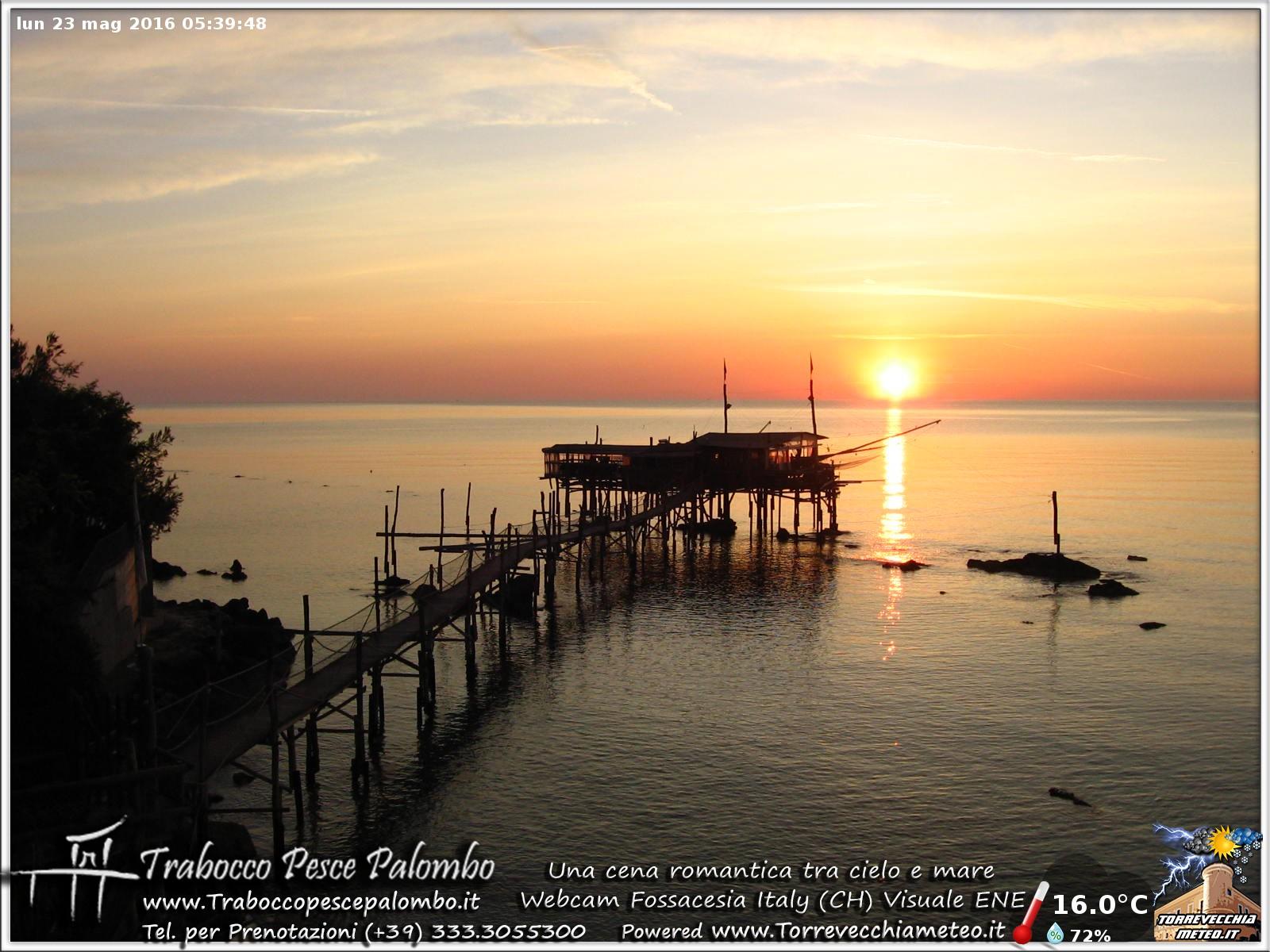 Nuova Webcam sul Trabocco Fossacesia - Costa dei Trabocchi --ore_05.40.jpg