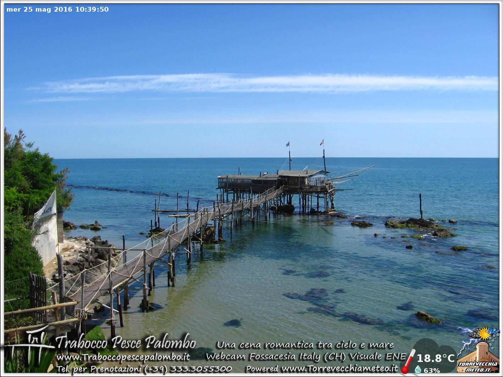 Nuova Webcam sul Trabocco Fossacesia - Costa dei Trabocchi --ore_10.40.jpg