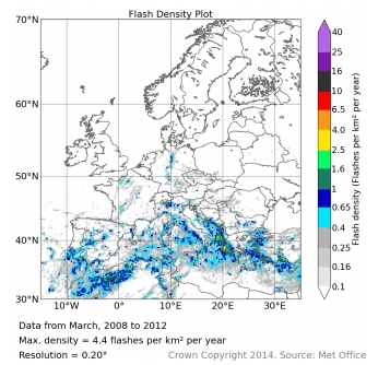 Distribuzione fulminazioni in Europa (periodo 2008-12)-zo73ts.jpg