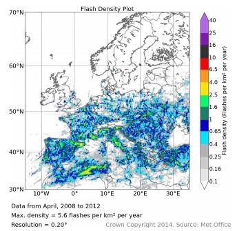 Distribuzione fulminazioni in Europa (periodo 2008-12)-2lu87s.jpg