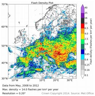 Distribuzione fulminazioni in Europa (periodo 2008-12)-p6suc.jpg