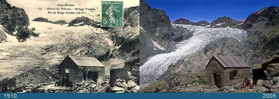 Bilancio di massa nei Ecrins-glacier-blanc-1910-2005.jpg
