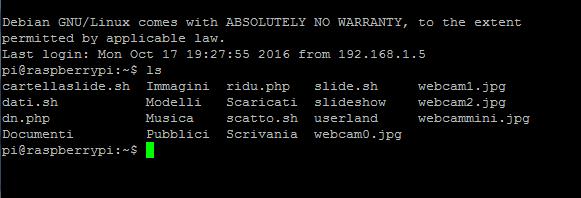 Script php per archiviare cronologicamente il file wbcam.jpg-immagine.png
