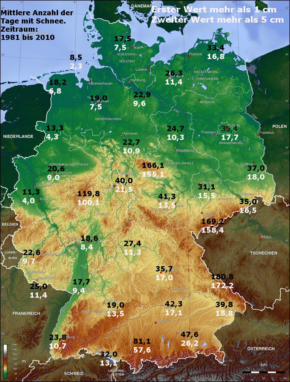 Medie nivometriche e giorni con neve al suolo in Germania-schneedecke81-10.jpg