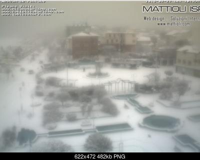 Snowcasting Romagna dal 26 Febbraio al 4 Marzo 2018-cattolica_webcam-_centro_di_cattolica_su_piazza_1._maggio_-_le_fontane_-_2018-02-27_10.22.56.png