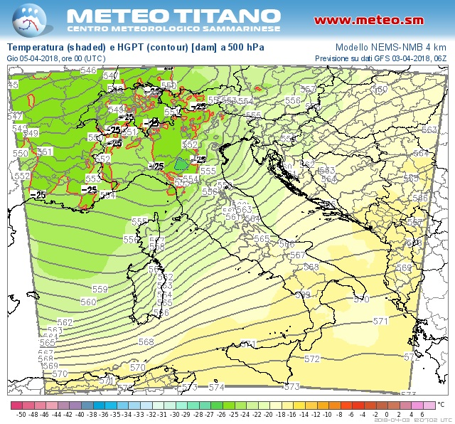 Nowcasting Emilia - Basso Veneto - Bassa Lombardia, 1-15 aprile 2018-tmp500_042.jpg