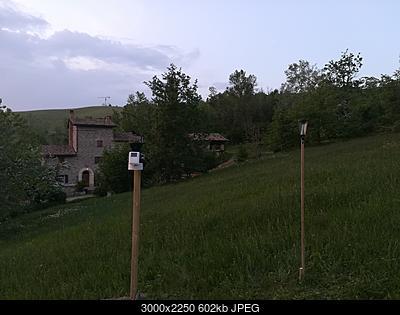Installazione nuovo pluviometro TFA affianco alla mia Davis-img_20180428_200839.jpg