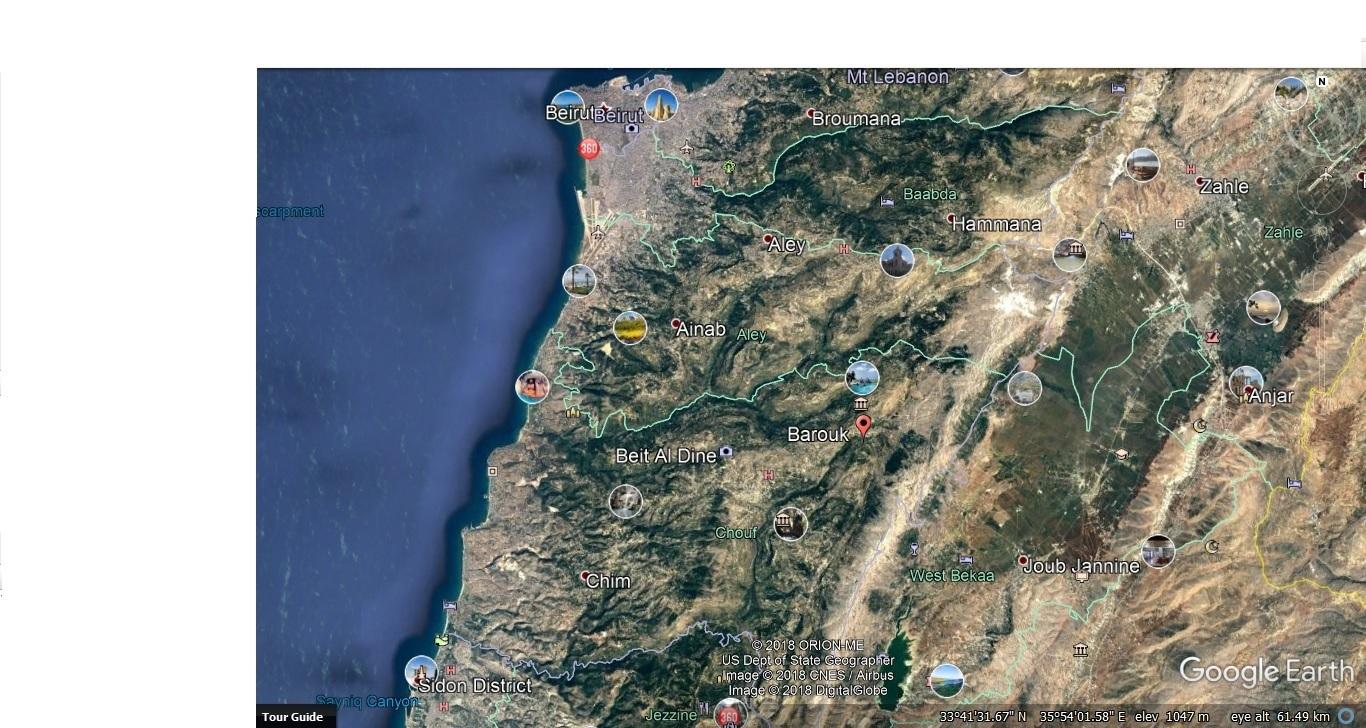 Catena del Libano - Situazione neve attraverso le stagioni-cedri-chouf.jpg