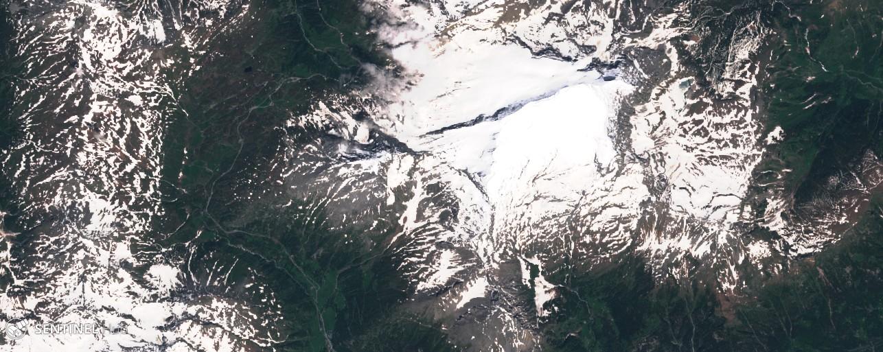 Monitoraggio innevamento monti italiani tramite il satellite Sentinel-sentinel-2-image-on-2018-06-14.jpg