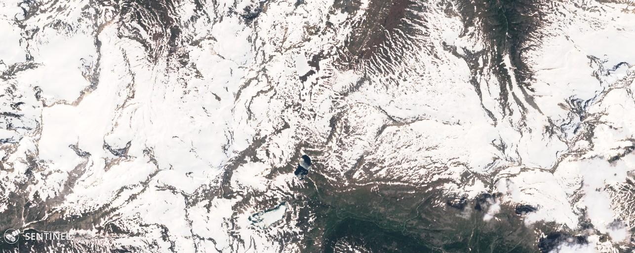 Monitoraggio innevamento monti italiani tramite il satellite Sentinel-sentinel-2-image-on-2018-06-19.jpg