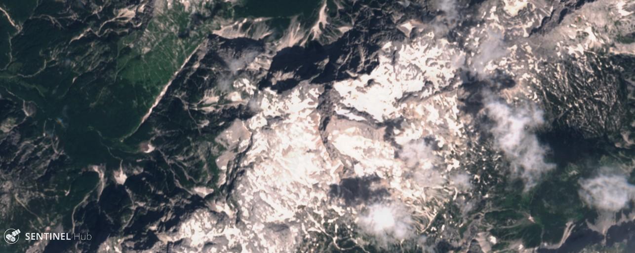 Monitoraggio innevamento monti italiani tramite il satellite Sentinel-sentinel-2-image-on-2018-06-23.jpg