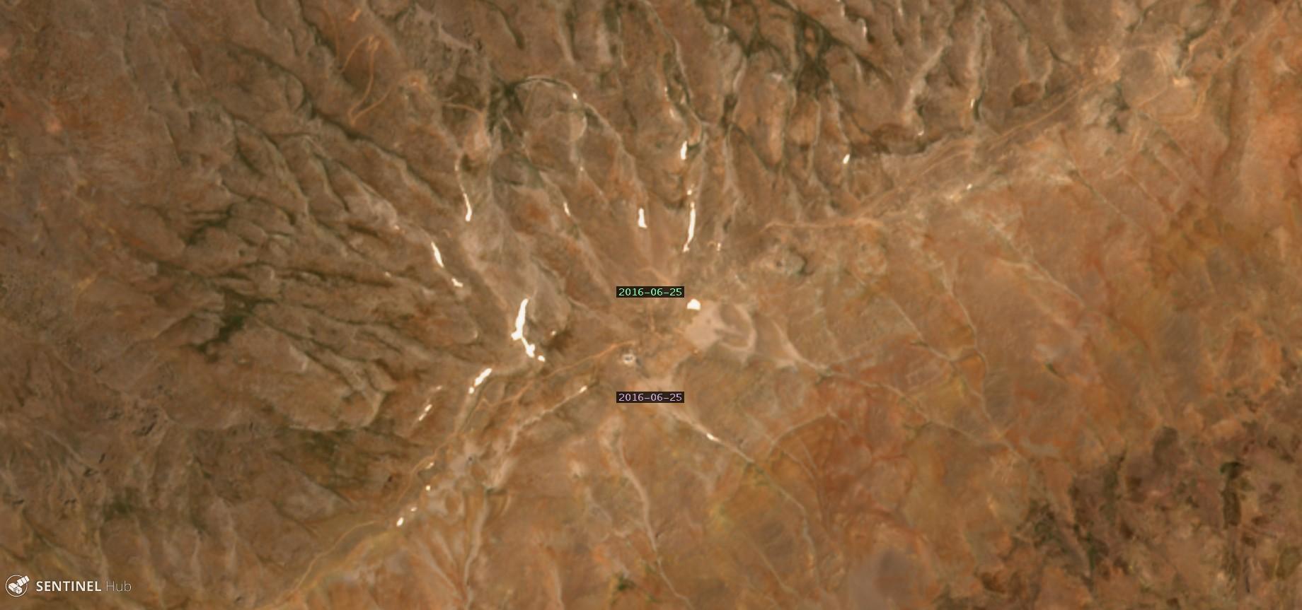Catena del Libano - Situazione neve attraverso le stagioni-hermon-25.06.16.jpg