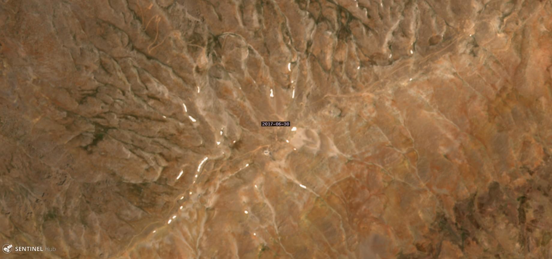 Catena del Libano - Situazione neve attraverso le stagioni-hermon-30.06.17.jpg
