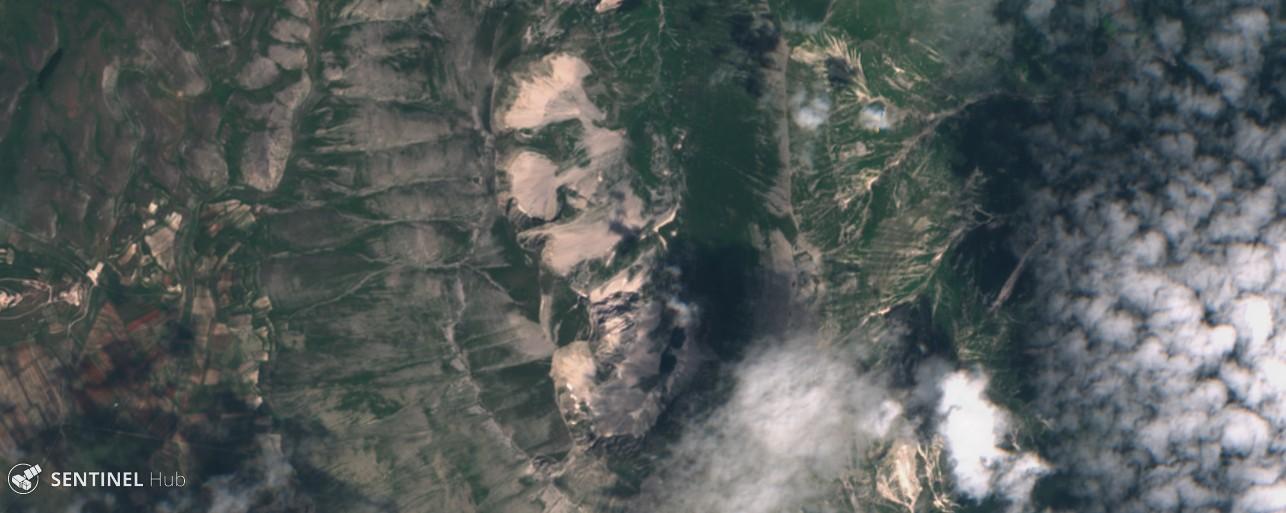 Monitoraggio innevamento monti italiani tramite il satellite Sentinel-sentinel-2-image-on-2018-07-10.jpg