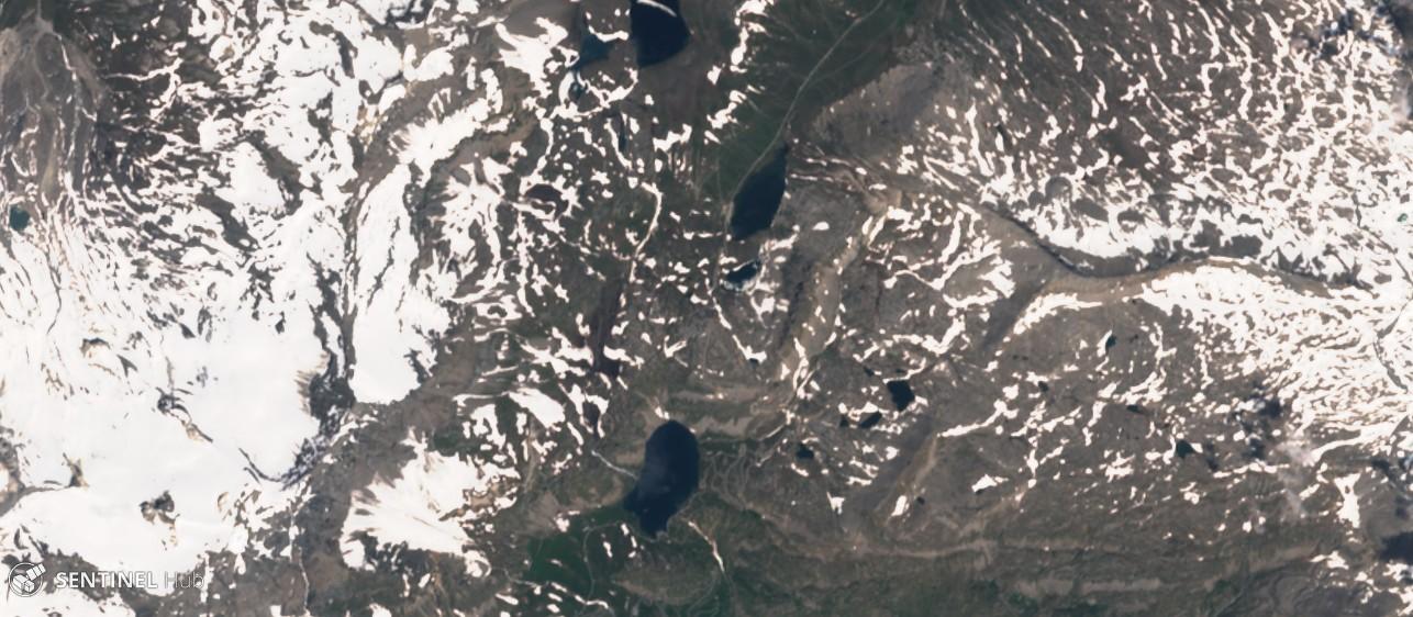 Monitoraggio innevamento monti italiani tramite il satellite Sentinel-sentinel-2-image-on-2018-07-09.jpg