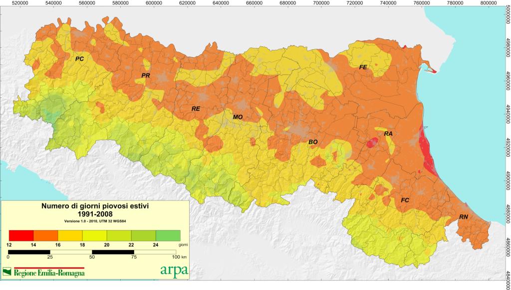 Mappe climatiche per proiezioni future: pareri e discussioni-fig070a_precda1_mean_daysabove_1_jja_9108-1024x583.png