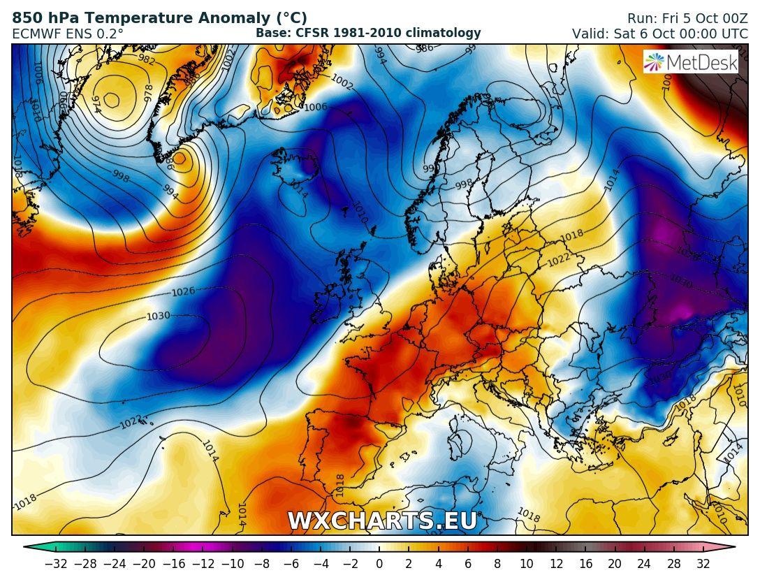 Ottobre 2018: anomalie termiche e pluviometriche-850temp_anom_024-6.jpg