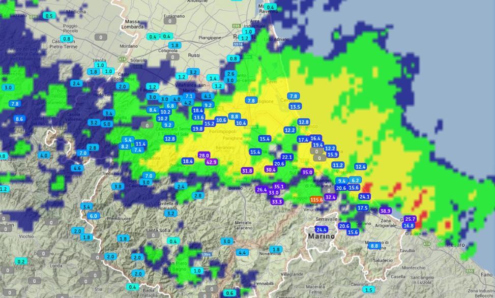 Romagna dal 15 al 21 ottobre 2018-rete_monitoraggio_romagna_-_2018-10-16_22.25.20.jpg