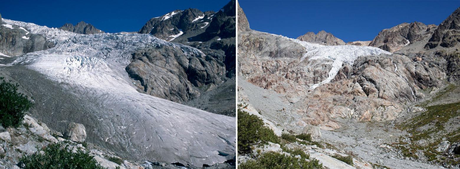 Bilancio di massa nei Ecrins-glacier-blanc1995-2018.jpg