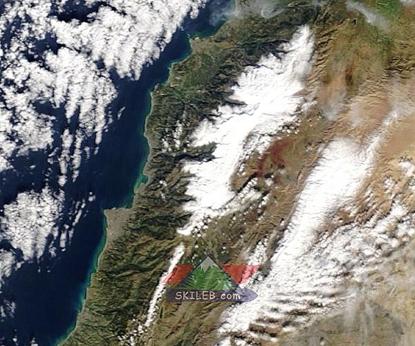 Catena del Libano - Situazione neve attraverso le stagioni-satellite-237-.jpg