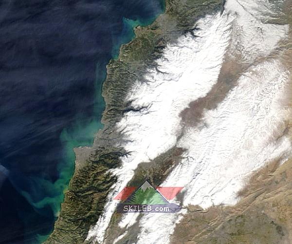 Catena del Libano - Situazione neve attraverso le stagioni-satellite-240-.jpg