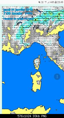Nowcasting Emilia - Basso Veneto - Bassa Lombardia, 16 Gennaio - 31 Gennaio-screenshot_20190129-234950.jpg