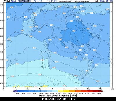 Nowcasting Emilia - Basso Veneto - Bassa Lombardia, 16 Gennaio - 31 Gennaio-mslp.z1.17_ecm.jpg