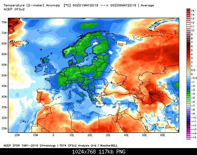 Giugno 2019: anomalie termiche e pluviometriche-ncep_cfsr_europe_t2m_anom.png
