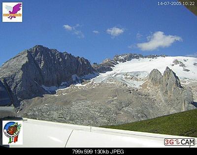 Il calo del ghiacciaio della Marmolada-marmo-2005.jpg