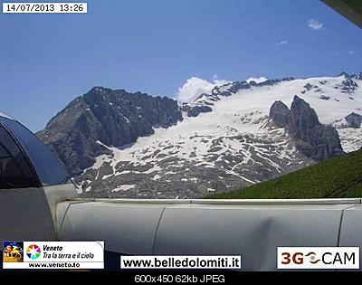 Il calo del ghiacciaio della Marmolada-marmo-2013.jpg