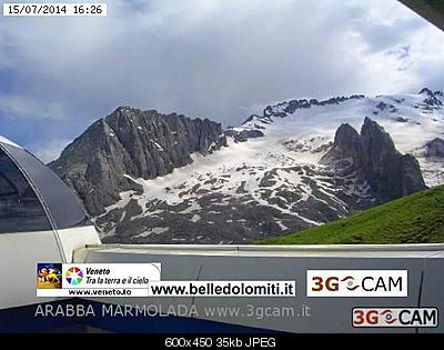 Il calo del ghiacciaio della Marmolada-marmolada-15-luglio-2014.jpg