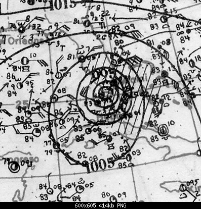 Settembre 1926 , terribile Uragano in Florida-carta.png