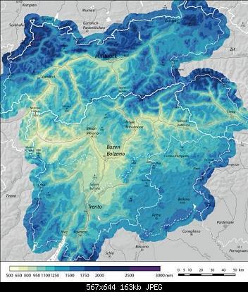 Alpi Italiane: medie nivometriche e durata del manto nevoso-pioggia-.jpg