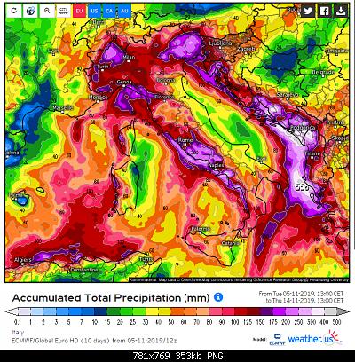 Romagna dal 04 al 10 novembre 2019-rain-ecmwf.png