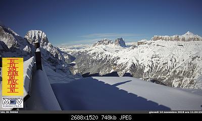 Il calo del ghiacciaio della Marmolada-webcam.jpg
