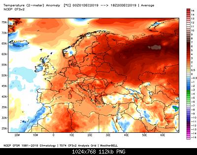 Dicembre 2019: Anomalie termiche e pluviometriche/nivometriche-ncep_cfsr_europe_t2m_anom-10-.png